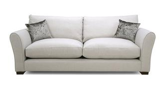 Globe Formal Back Large Sofa
