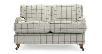Gower Check 2 Seater Sofa