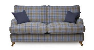 Gower Plaid 3 Seater Sofa