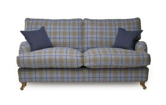 Plaid 3 Seater Sofa