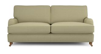 Gower Racing Plain 3 Seater Sofa