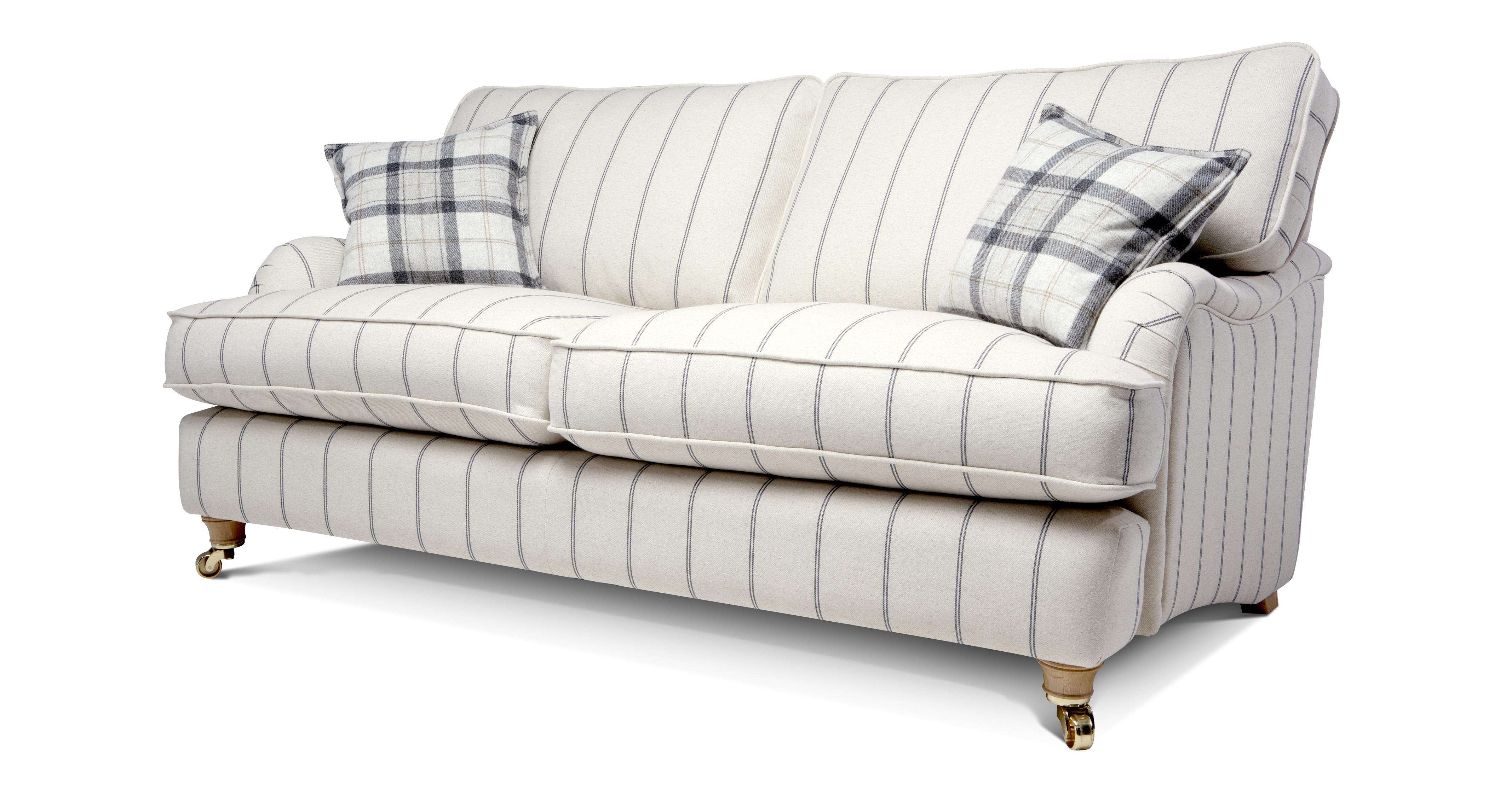 Gower Stripe Large Sofa Gower Stripe Dfs