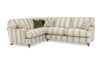 Racing Stripe Right Hand Facing 3 Seater Corner Sofa Gower Racing Stripe