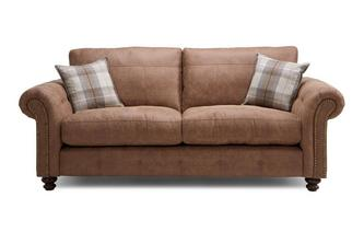 Formal Back 3 Seater Sofa Oakland
