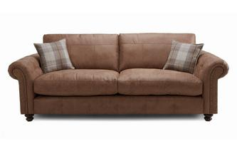 Formal Back 4 Seater Sofa Oakland