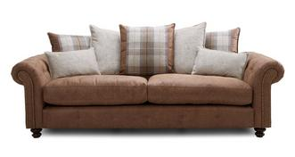 Hamish Pillow Back 4 Seater Sofa