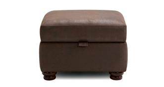 Hamish Plain Storage Footstool
