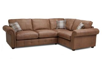 Formal Back Left Hand Facing 3 Seater Corner Sofa Bed Oakland