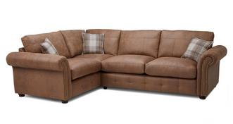 Hamish Formal Back Right Hand Facing 3 Seater Corner Sofa Bed