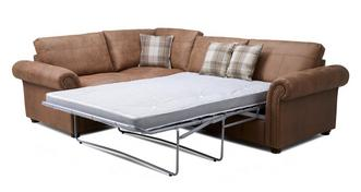 Hamish Formal Back Right Hand Facing 3 Seater Deluxe Corner Sofa Bed
