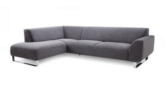 Hardy Right Hand Facing Arm Corner Sofa (plaza fabric)