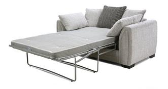 Harlem Pillow Back 2 Seater Deluxe Sofa Bed