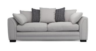 Harlem Pillow Back 4 Seater Sofa