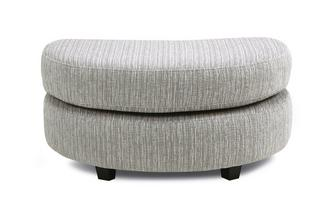 Half Moon Footstool Boston