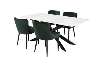 Dining Table & 4 Ursula Chairs