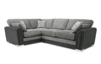 Formal Back Right Hand Facing 3 Seater Supreme Corner Sofa Bed