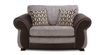 Himara Formal Back Cuddler Sofa
