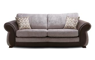 Formal Back 4 Seater Sofa Himara