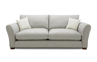 Formal Back Large Sofa