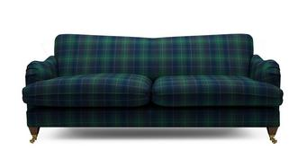 Ilkley Plaid 4 Seater Sofa