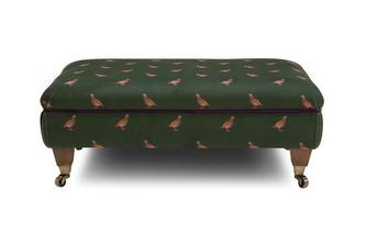 Partridge Footstool Peter Partridge
