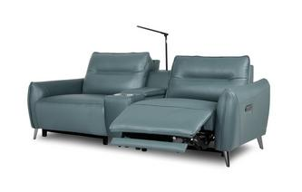 2 Seater Power Recliner and Console