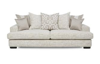 4 Seater Pillow Back Sofa Indulge