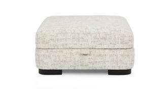 Indulge Large Square Storage Footstool
