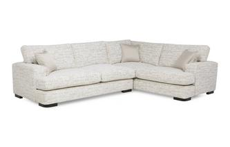 Left Hand Facing 3 Seater Formal Back Corner Sofa Indulge