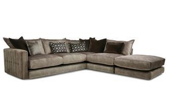 Left Hand Facing Arm 4 Piece Corner Sofa