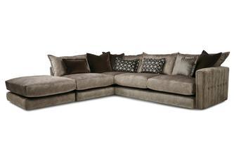 Right Hand Facing 4 Piece Corner Sofa