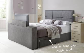 Inspire Double 2 Drawer TV Bed Inspire