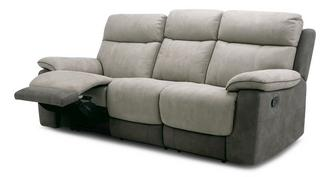 Irvine 3 Seater Manual Recliner