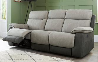 Irvine 3 Seater Manual Recliner Arizona