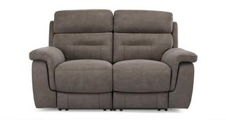 Jacque Fabric 2 Seater Manual Recliner