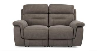 Jacque Fabric 2 Seater Power Plus Recliner