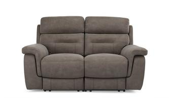 Fabric 2 Seater Power Plus Recliner Arizona