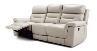 Jacque 3 Seater Manual Recliner
