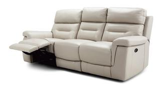 Jacque 3 Seater Power Plus Recliner