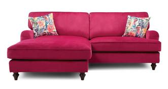 Jardim Left Hand Facing 4 Seater Lounger Sofa