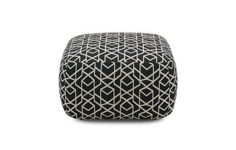 Small Geo Pattern Footstool