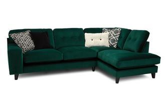 Left Hand Facing 3 Seat Open End Corner Sofa