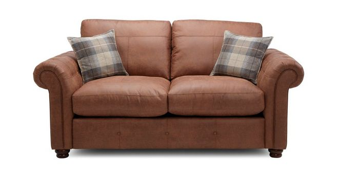 Jesmond: Formal Back 2 Seater Sofa Bed