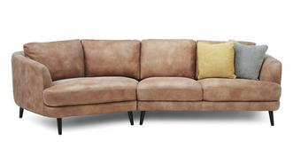 Juniper Left Hand Facing Angled 4 Seater Sofa