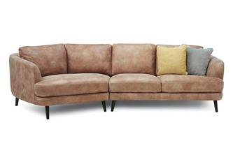 Left Hand Facing Angled 4 Seater Sofa Grand Heritage