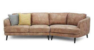 Juniper Right Hand Facing Angled 4 Seater Sofa