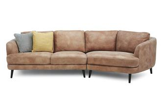 Right Hand Facing Angled 4 Seater Sofa Grand Heritage
