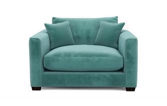 Velvet Snuggler Sofa