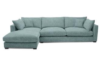 Left Hand Facing Large Chaise End Sofa