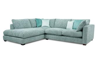Right Hand Facing Arm Small Open End Corner Sofa